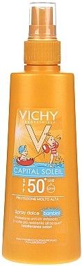 Sonnenschutzspray für Kinder SPF 50+ - Vichy Capital Soleil Spray Douceur Enfants SPF50+ — Bild N1