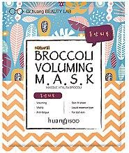 Düfte, Parfümerie und Kosmetik Belebende Tuchmaske mit Brokkoli-Extrakt - Huangjisoo Broccoli Voluming Mask