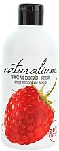 Düfte, Parfümerie und Kosmetik Shampoo und Haarspülung mit Himbeerduft - Naturalium Shampoo And Conditioner Raspberry