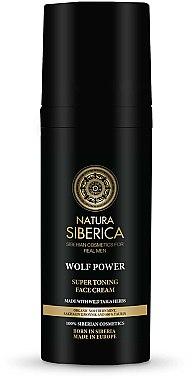 Straffende Gesichtscreme für Männer - Natura Siberica Wolf Power Super Toning Face — Bild N2