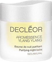 Düfte, Parfümerie und Kosmetik Gesichtsbalsam für fettige und unreine Haut für die Nacht - Decleor Ylang-Ylang Puriyfing Night Balm