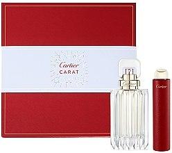 Düfte, Parfümerie und Kosmetik Cartier Carat - Duftset (Eau de Parfum 100ml + Eau de Parfum Mini 15ml)