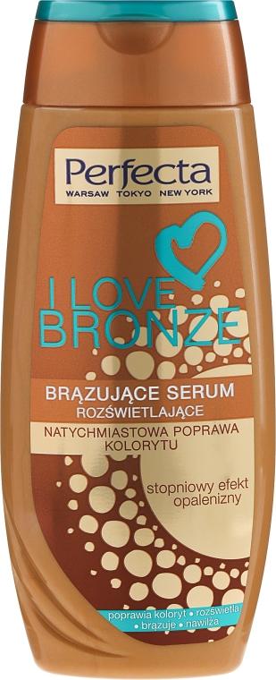 Körperserum für sofortigen Bronze-Teint - Perfecta I Love Bronze Serum