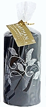 Düfte, Parfümerie und Kosmetik Dekorative Kerze schwarz 7x10 cm - Artman Amelia