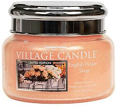 Duftkerze English Flower Shop - Village Candle English Flower Shop Petite Glass Jar — Bild N1
