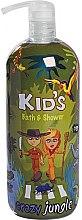 Düfte, Parfümerie und Kosmetik  Duschgel & Badeschaum für Kinder Crazy Jungle - Hegron Kid's Crazy Jungle Bath & Shower