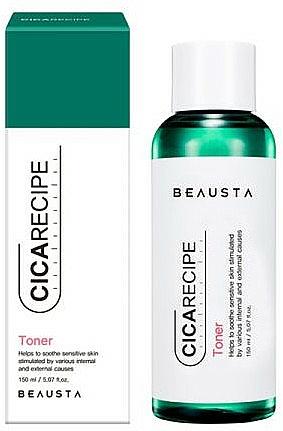 Beruhigendes Gesichtstonikum mit Centella - Beausta Cicarecipe Toner