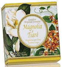 Düfte, Parfümerie und Kosmetik Naturseife Magnolia & Tiare - Saponificio Artigianale Fiorentino Magnolia & Tiare Soap Portofino Collection