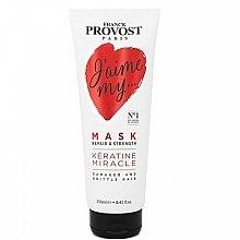 Düfte, Parfümerie und Kosmetik Regenerierende Haarmaske für strapaziertes und stumpfes Haar mit Keratin - Franck Provost Paris Jaime My Hair Mask