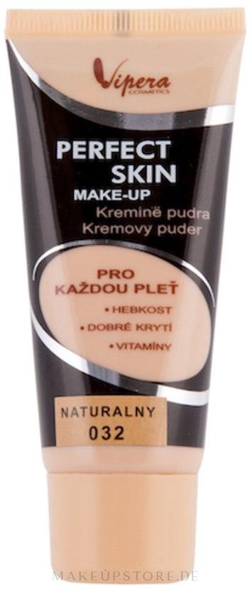 Foundation - Vipera Fluid Perfect Skin Make Up — Bild 032 - Natural