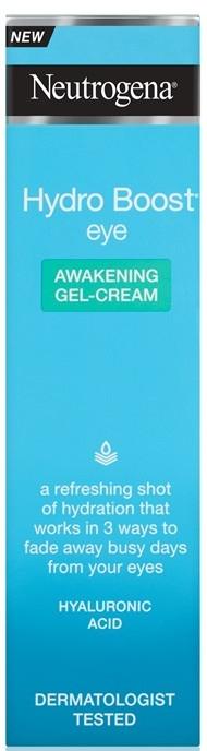 Intensiv feuchtigkeitsspendende Gel-Creme für den Augenbereich - Neutrogena Hydro Boost Eye Awakening Gel Cream — Bild N2