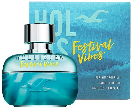 Hollister Festival Vibes For Him - Eau de Toilette — Bild N3