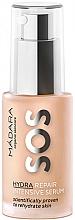 Düfte, Parfümerie und Kosmetik Regenerierendes Gesichtsserum für trockene und müde Haut - Madara Cosmetics SOS HYDRA Repair intensive serum