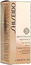 Augenkonturserum - Shiseido Benefiance NutriPerfect Eye Serum — Bild N2