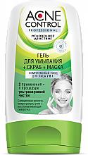 Düfte, Parfümerie und Kosmetik Waschgel + Peeling + Gesichtsmaske, umfassende Pflege 7 in 1 - Fito Cosmetic Acne Control Professional