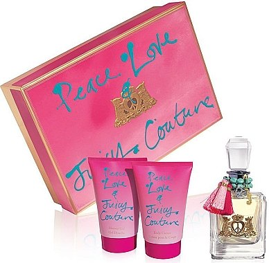 Juicy Couture Peace, Love & Juicy Couture - Set(ash/lot/100ml + deo/200ml) — Bild N1