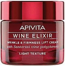 Düfte, Parfümerie und Kosmetik Anti-Falten straffende Creme mit Santorin-Wein und Polyphenolen - Apivita Wine Elixir Cream