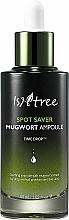 Düfte, Parfümerie und Kosmetik Entzündungshemmendes, beruhigendes und klärendes Gesichtsserum mit 85% Beifußextrakt - IsNtree Spot Saver Mugwort Ampoule