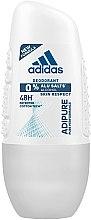 Düfte, Parfümerie und Kosmetik Adidas Adipure Pure Performance 48h - Deo Roll-on Antitranspirant