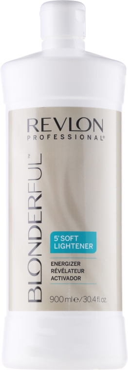 Entwickler - Revlon Professional Blonderful Soft Lightener Energizer — Bild N1