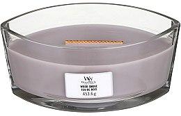 Düfte, Parfümerie und Kosmetik Duftkerze im Glas Wood Smoke - Woodwick Hearthwick Flame Ellipse Candle Wood Smoke