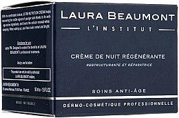 Düfte, Parfümerie und Kosmetik Ultra nährende Anti-Aging Nachtcreme - Laura Beaumont Ultra Nutrition Cream Night Care