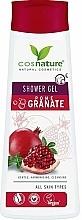 Düfte, Parfümerie und Kosmetik Pflegendes Duschgel mit Granatapfel - Cosnature Shower Gel Pomegranate