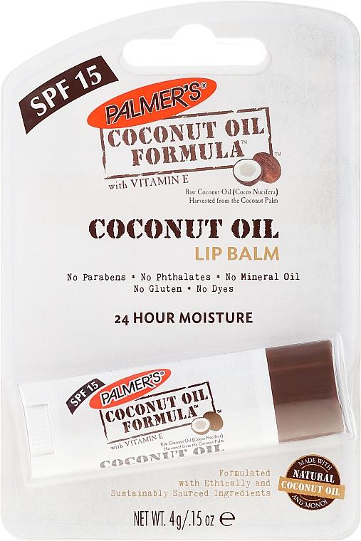 Lippenbalsam mit Kokosöl - Palmer's Coconut Oil Formula Lip Balm — Bild N1
