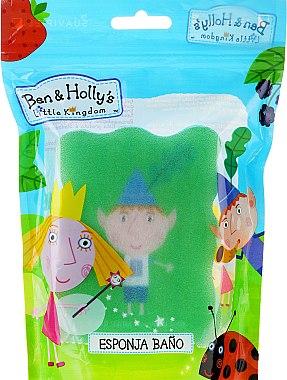 Kinder-Badeschwamm Ben und Holly grün - Suavipiel Ben & Holly — Bild N3