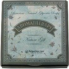 Düfte, Parfümerie und Kosmetik Glycerinseifen Geschenkset 6 St. - Bulgarian Rose Aromatherapy Nature Soap (6x90g)