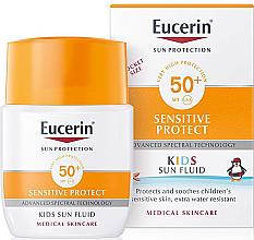 Düfte, Parfümerie und Kosmetik Sonnenschutzfluid für Kinder SPF 50+ - Eucerin Kids Sun Fluid Sensitive Protect SPF 50+