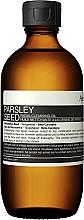 Düfte, Parfümerie und Kosmetik Gesichtsreinigungsöl mit Petersiliensamen - Aesop Parsley Seed Cleansing Oil