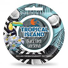 Düfte, Parfümerie und Kosmetik Gesichtspeeling schwarzer Kokos - Marion Tropical Island Black Coco Face Scrub