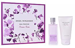 Düfte, Parfümerie und Kosmetik Angel Schlesser Eau Fraiche Peonia Rosa - Kosmetikset (Eau de Toilette/100ml+Duschgel/150)