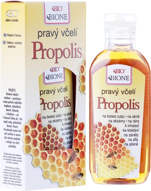 Propolis-Extrakt bei Neurodermitis, Juckreiz und Wundstellen - Bione Cosmetics Honey + Q10 Pure Bee Propolis — Bild N1