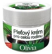 Düfte, Parfümerie und Kosmetik Gesichtscreme für die ganze Familie mit Olivenöl - Bione Cosmetics Olivia Facial Cream For The Whole Family