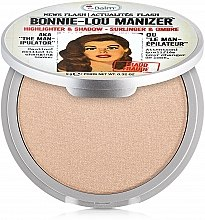 Düfte, Parfümerie und Kosmetik Highlighter, Schimmer & Lidschatten - theBalm Bonnie-Lou Manizer Highlighter & Shadow