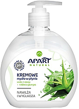 Düfte, Parfümerie und Kosmetik Cremige Flüssigseife mit Aloe Vera und Glycerin - Apart Natural Aloe Vera Water & Glycerin Soap