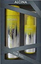 Düfte, Parfümerie und Kosmetik Haarpflegeset - Alcina Hyaluron 2.0 Hair Set (Shampoo 250ml + Haarspray 100ml)