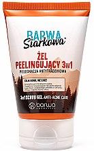 Düfte, Parfümerie und Kosmetik Antibakterielles Peelinggel gegen Akne mit Schwefel 3in1 - Barwa Anti-Acne Sulfuric Gel Scrub