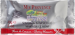 Düfte, Parfümerie und Kosmetik Marseiller Seife mit Kirschblüten - Ma Provence Marseille Soap Cherry Blossom