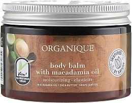 Düfte, Parfümerie und Kosmetik Körperbalsam mit Macadamiaöl - Organique Shea Butter Body Balm With Macadamia Oil