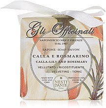 Düfte, Parfümerie und Kosmetik Naturseife Calla Lily & Rosemary - Nesti Dante Velvety & Toning Soap Gli Officinali Collection