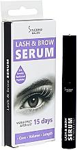 Düfte, Parfümerie und Kosmetik Wimpern- und Augenbrauenserum zum Wachstum und Volumen - Sincero Salon Lash & Brow Serum