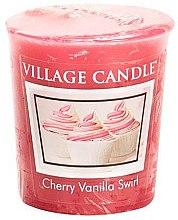 Duftkerze Cherry Vanilla Swirl - Village Candle Cherry Vanilla Swirl Glass Jar — Bild N2