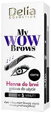 Düfte, Parfümerie und Kosmetik Henna für Augenbrauen - Delia My Wow Brows
