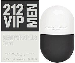 Düfte, Parfümerie und Kosmetik Carolina Herrera 212 VIP Men New York Pills - Eau de Toilette