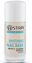 Düfte, Parfümerie und Kosmetik Nagelunterlack weiß - Astra Make-up Whitening Nail Base