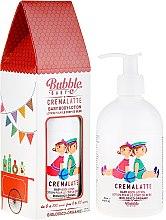 Düfte, Parfümerie und Kosmetik Feuchtigkeitsspendende Bio Körperlotion für Kinder und Erwachsene - Bubble&CO Cremalatte Bimbo