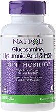 Düfte, Parfümerie und Kosmetik Nahrungsergänzungsmittel mit Hyaluronsäure, MSM und Glucosamin für gesunde Gelenke und Bindegewebe - Natrol Glucosamine Hyaluronic Acid & MSM